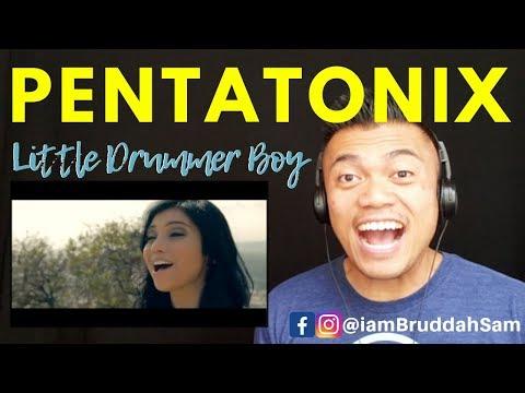 PENTATONIX Christmas - Little Drummer Boy   REACTION vids with Bruddah Sam