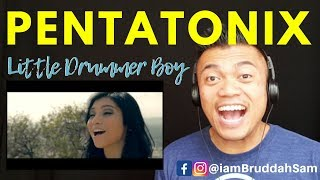 PENTATONIX Christmas - Little Drummer Boy | REACTION vids with Bruddah Sam