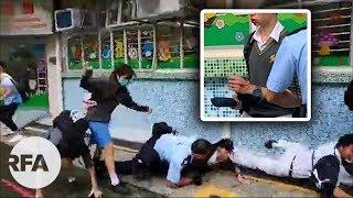 Publication Date: 2019-09-04 | Video Title: 傳學校呈交罷課學生名單 百人校門外聚集聲援被警方驅散