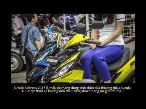 Đánh Giá Xe Suzuki Address 2017: Mẫu Xe Tay Ga Giá Rẻ Mới Ra Mắt