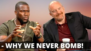 KEVIN HART & LOUIS CK On Why They NEVER have a BAD show (Anymore) ★