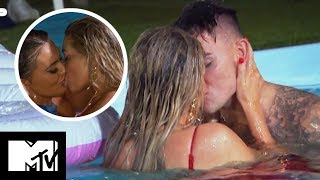 OI OI! Chloe And Sam's Passionate Pool Neck On | Geordie Shore 1603