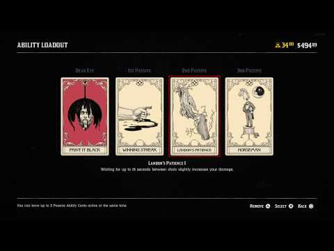 Red Dead Redemption Online Beta:  Ability Cards Ep. 4 of 6...DPS & DPS Hybrid Loadouts (RDR2)