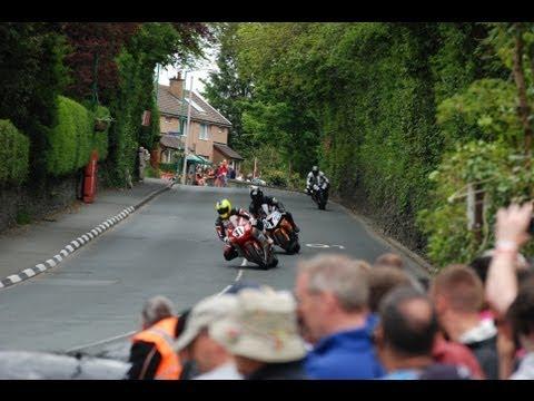 Isle Of Man TT Superbikes Final HD - Union Mills (Railway Pub)