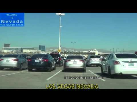 McCarran Airport TNC Paradise lot to Terminal 1 Timelapse Mode