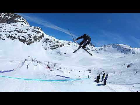 Gus Kenworthy Silvaplana World Cup Run - YouTube