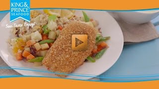 Panko Crusted Fish Hash
