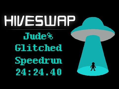 Hiveswap Jude% World Record Speedrun (24:24.40)