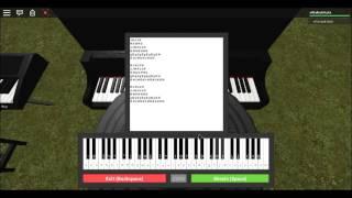 """Roblox """"Rob $tone - Chill Bill"""" Tutoriel pour piano"""