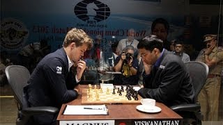 World Chess Championship 2013 - Brief overview and summary - Kingscrusher Radio Show
