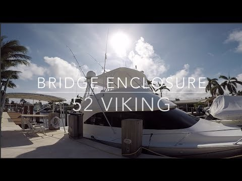 52 Viking Bridge Enclosure- Acrylic and Strataglass panels