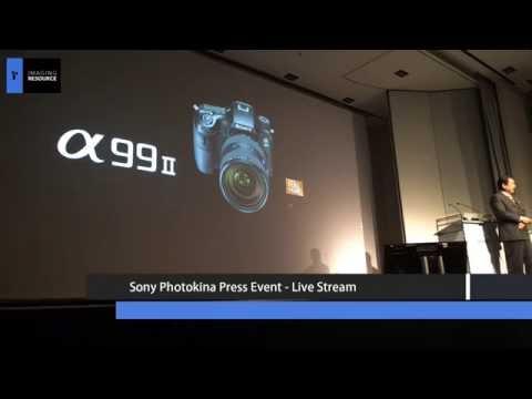 Sony Photokina 2016 A99 Mark II Press Conference