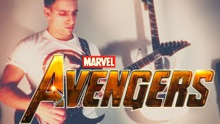 THE AVENGERS THEME (Guitar Cover)