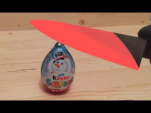 EXPERIMENT Glowing 1000 degree KNIFE...