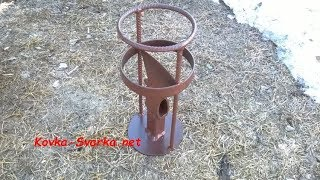 Щепокол-колун для колки щепок 2: для более длинных дров