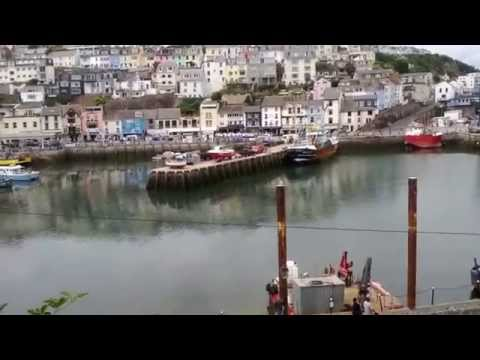 Brixham Devon United Kingdom - Why Sea has got Blue Collar? - TOURIST DESTINATION