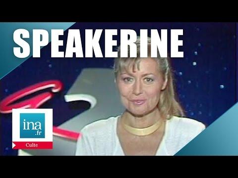 Speakerine 1990 Patricia Lesieur   Archive INA