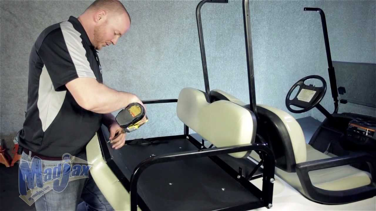 How To Install Seat Covers On Club Car Precedent