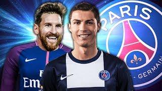 МЕССИ И РОНАЛДУ ТЕПЕРЬ ИГРАЮТ В ОДНОЙ КОМАНДЕ | FIFA 18 КАРЬЕРА ТРЕНЕРА ЗА ПСЖ | ФИФА 18