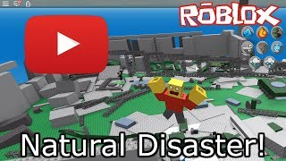 Roblox Natural Disaster - Funny Momments!?