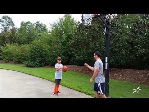 Basketball Home Drill 5 - Form Shooting Warmup