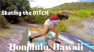 Hawaii DITCH SKATING: A day in the gutter