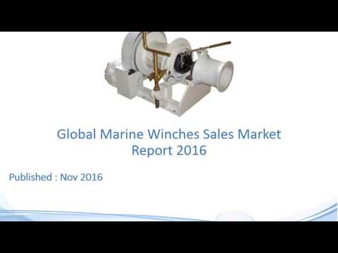 Global Marine Winches Sales Market Report 2016