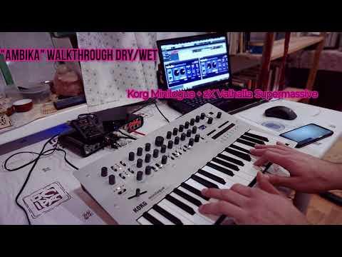 "Korg Minilogue ""Ambika"" Best Ambient Sounds Walkthrough"
