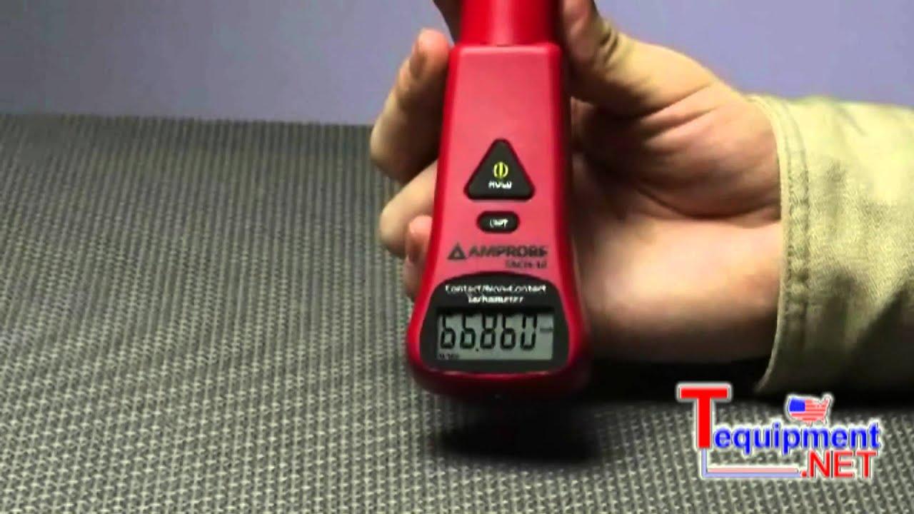 Amprobe TACH-10 & TACH-20 Contact / Non-Contact Tachometers