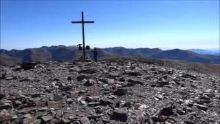 Montée au Puigmal d'Err dans les Pyrénées Orientales