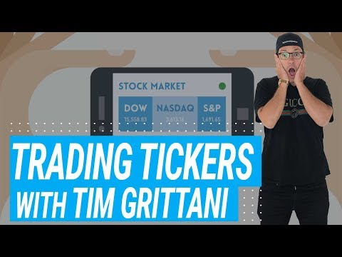 Trading Tickers With Tim Grittani