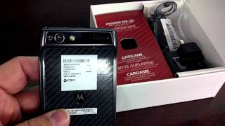 MOTOROLA DROID RAZR 2 XT910 ATT 3g Unboxing Video - Phone in Stock at www.welectronics.com