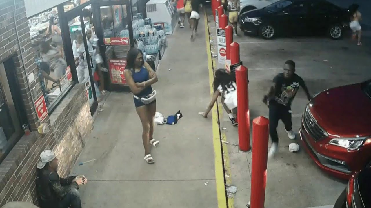 Download Surveillance video released in gas station shooting