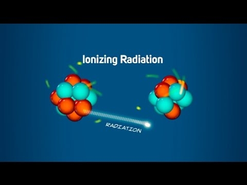 What is ionizing radiation?