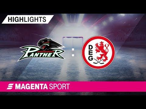 Augsburger Panther - Düsseldorfer EG | 3. Spieltag, 19/20 | MAGENTA SPORT