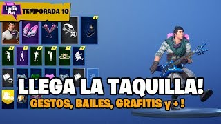 THE BOX ARRIVES TO SAVE THE WORLD! GESTS, BAILES, MUSICA, GRAFITIS FORTNITE