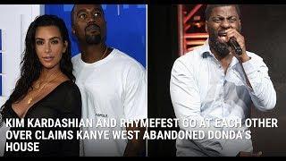 Kim Kardashian Explains her feud with Rhymefest in detail!