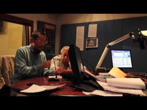 Radio interview with Hongchi Xiao in Soweto, South Africa 2014