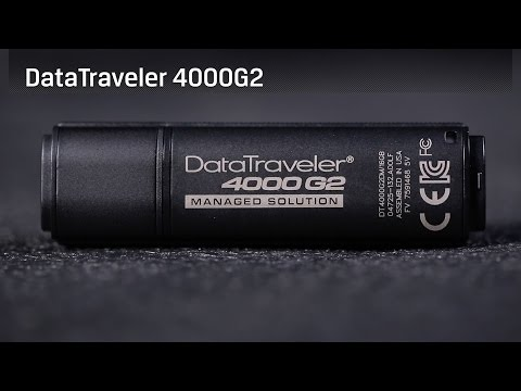 Secure USB Drive - DataTraveler 4000 G2 - FIPS 140-2 Level 3 validation