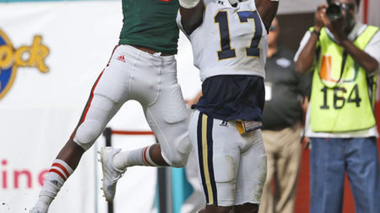 Miami Hurricanes miss three short field goals, are stunned in overtime by Georgia Tech