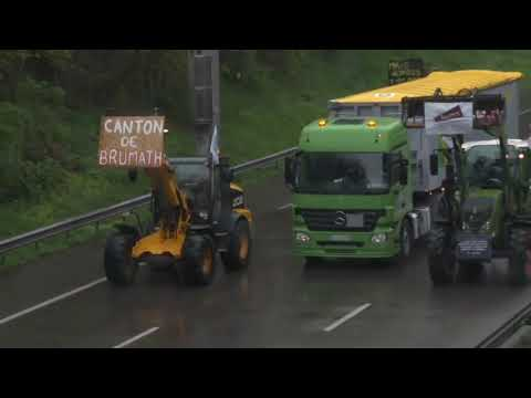 French farmers protest new agriculture policy