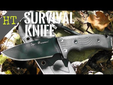 BEST BUDGET Tactical Survival Knife | HX Rock