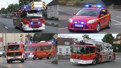 [STADTALARM IN BAD SALZUFLEN] Einsatzfahrten Hauptamtliche und Freiwillige Feuerwehr!