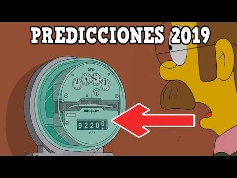 LAS PREDICCIONES SIMPSON 2019