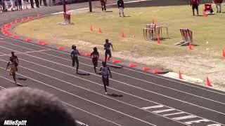 Tamari Davis Runs Freshman Class 200m Dash Record