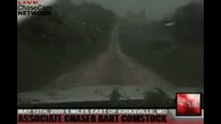 INSANE FOOTAGE OF DEADLY KIRKSVILLE, MO TORNADO! (5/13/09)