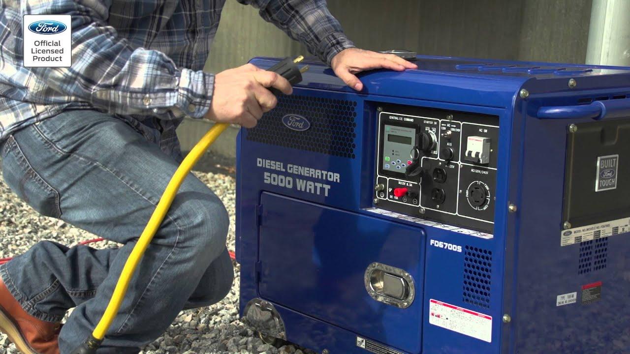 Ford Diesel Generator FD6700S