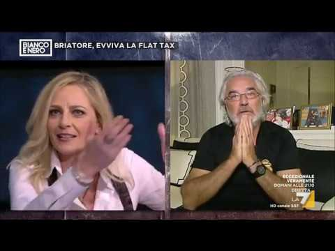 Flavio Briatore vs Luisella Costamagna: 'Può alzare il culo e andarsene!'
