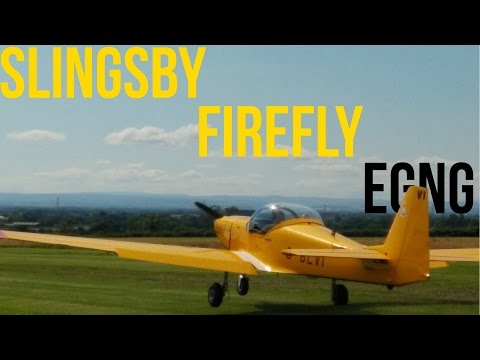 'Work' Experience | Flying the Slingsby T67 Firefly | GoPro POV