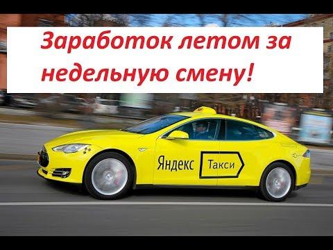 Яндекс такси. Недельная смена в Иркутске